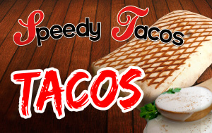 speedy tacos cheesy tacos burger kebab am ricain. Black Bedroom Furniture Sets. Home Design Ideas